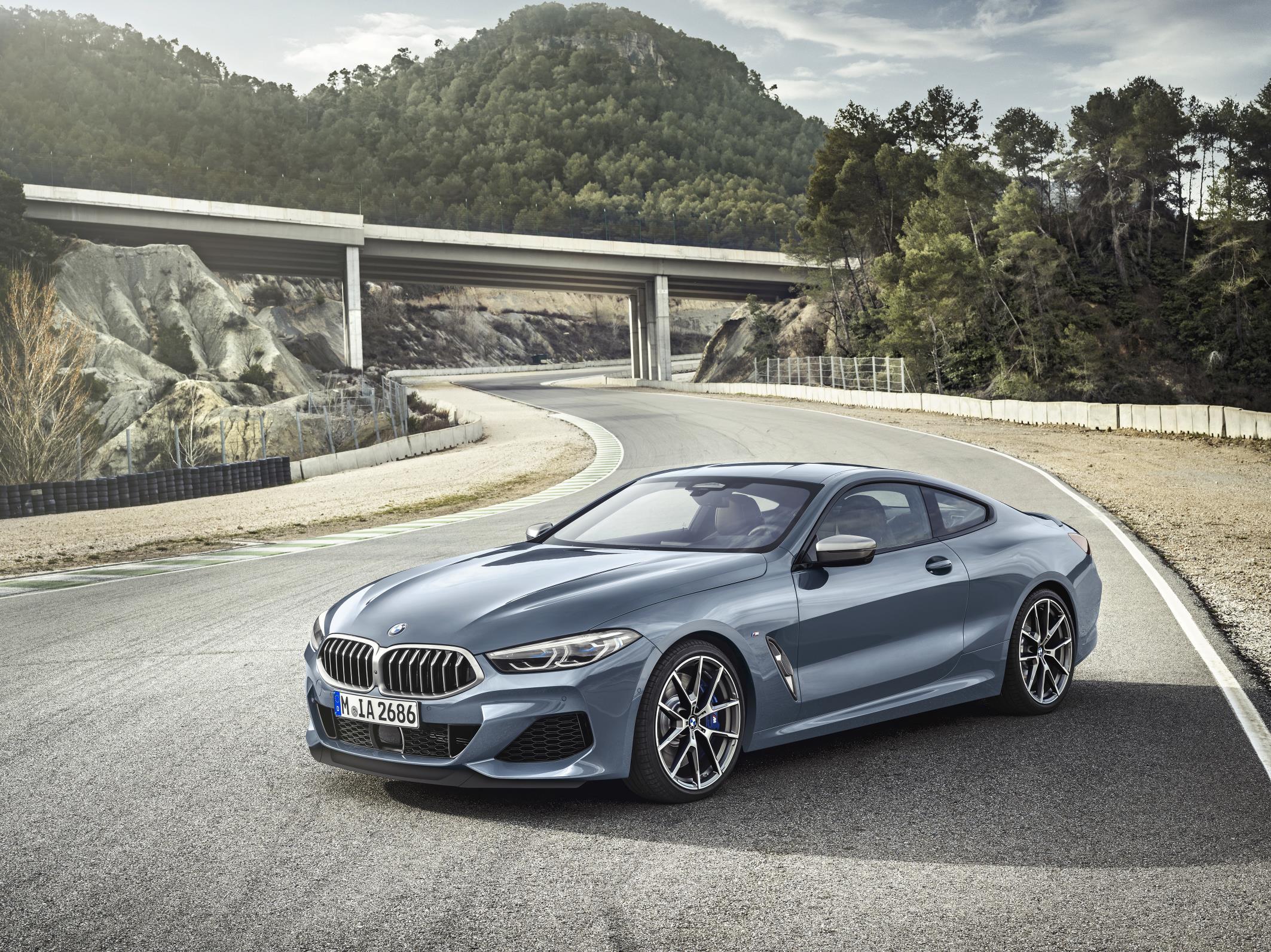 De BMW M850i : wachten op de M8