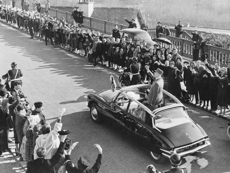 Citroën DS President De Gaulle